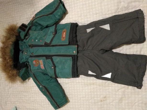 куртка зимова на хлопчика 92 р.+штани