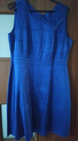 Niebieska sukienka rozmiar 42