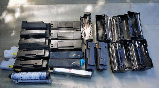Części do drukarek Kyocera, tonery, bębny, piec - cena za WSZYSTKO!