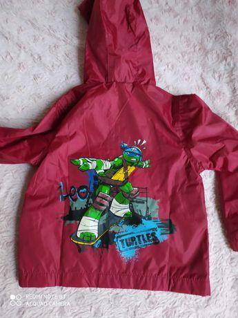 Продам ветровку - дождевик Черепашки Ниндзя Nickelodeon Leo turtle 98