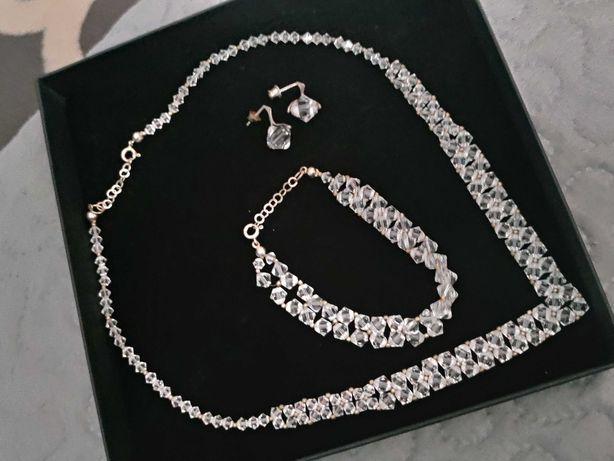 Biżuteria Swarovski komplet