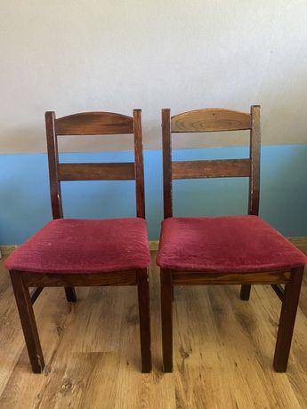 Drewnine krzesła