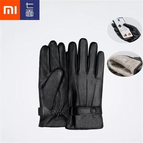 Кожаные Перчатки Xiaomi Qimian мужские/женские овечья настоящая кожа