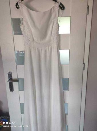 Suknia ślubna rozmiar 38-40 ecru plus buty