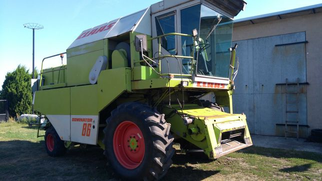 Claas Dominator 86, Stan bardzo dobry, heder 4,5m, wózek