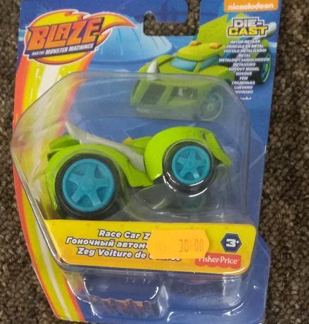 Blaze Monster Machines Fisher Price zielony Zeg