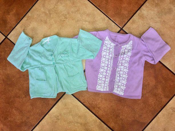 Zestaw swetrów dla dziewczynki 12-18 miesięcy
