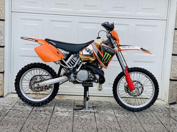Ktm sx 250 de 2001