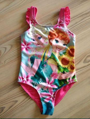 Disney Frozen Kraina Lodu nowy strój kostium kąpielowy na 98-104