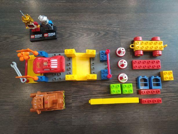 Конструктор аналог Lego Duplo, Тачки, та з інших комплектів