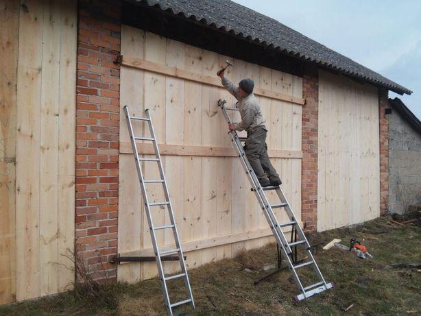 Rozbiórka , stodoła, skup drewno stare belki