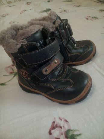 Зимние ботинки сапожки 21р. (стелька 12,5 см.)