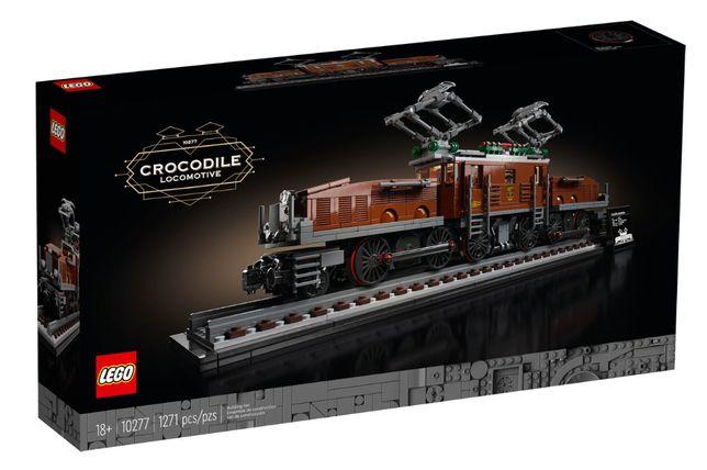 LEGO 10277 Creator Expert Crocodile Locomotive