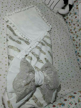Кокон,плед одеяло на выписку
