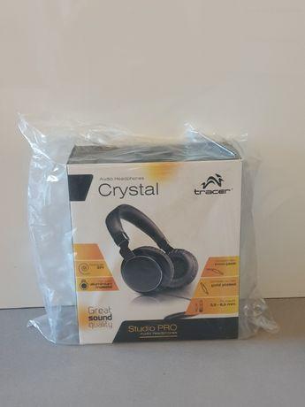 Słuchawki TRACER Crystal audio NOWE, wysoka jakość dźwięku