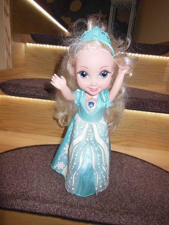 ELZA kraina lodu super święcąca tańcząca,śpiewająca ,mowiąca lalka