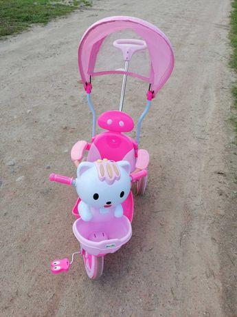 Rowerek trójkołowy dla dziewczynki