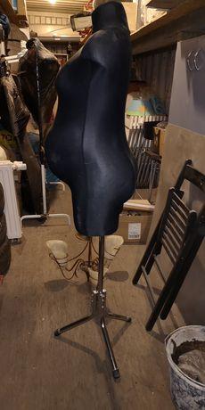Manekin ciążowy sklepowy stan doskonały 150cm wysyłka