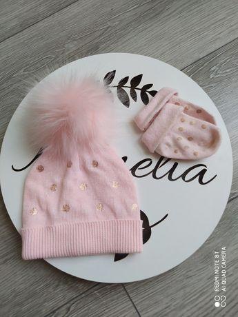 Nowa czapka plus skarpetki