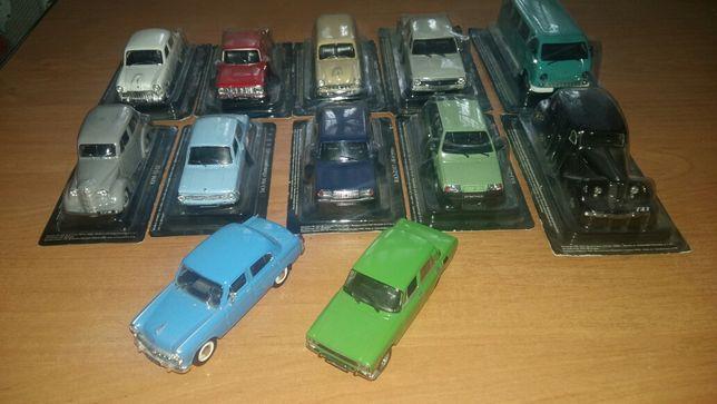 модели автомобилей ,,Автолегенды СССР,,