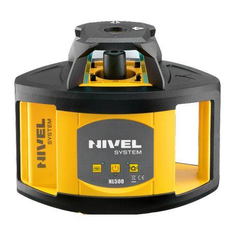 Niwelator Laserowy NL500 Nivel System - Osprzęt! Lepszy niż optyczny!