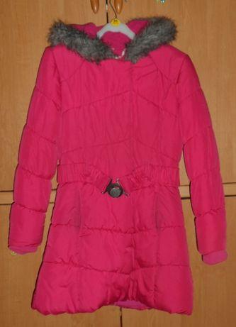 Зимнее пальто-пуховик для девочки 11-12 лет