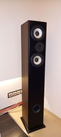 Kolumny głośnikiwe podłogowe Tonsil Siesta Front ProTonsil orzech