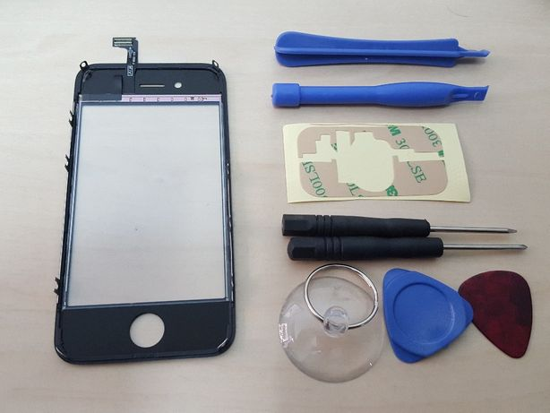 R439 Touch Screen +Middle Frame + Ferramentas iPhone 4S