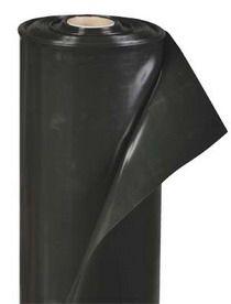 Пленка полиэтиленовая черная (строительная) 3м х 100м. Выгодная цена!