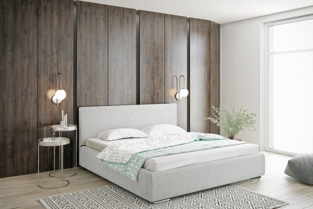 Łóżko tapicerowane sypialniane małżeńskie 120/140/160/180/200 Pojemnik