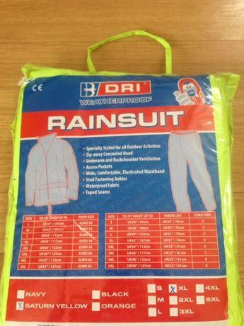 Profesjonalna odzież robocza , przeciwdeszczowa XL kurtka i spodnie ,