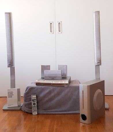 Sistema de som Home Cinema - Pioneer