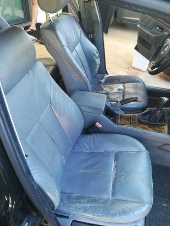 BMW E39 série 5 bancos em pele (cinzento)