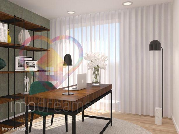 Apartamento T2 NOVO | 2 Frentes | C/ Arrecadação | Vialonga