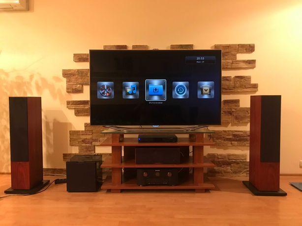 Домашний кинотеатр ТВ Samsung UE65, колонки B&W CM, саб B&W, Marantz