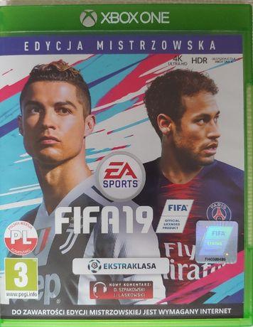 gra FIFA 19 xbox one
