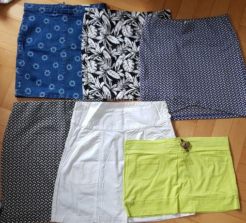Letnie Spódnice H&M Sinsaya Tezenis S/M