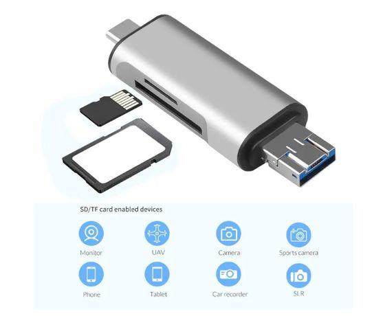 Card Reader USB 3,0 USB OTG Type c