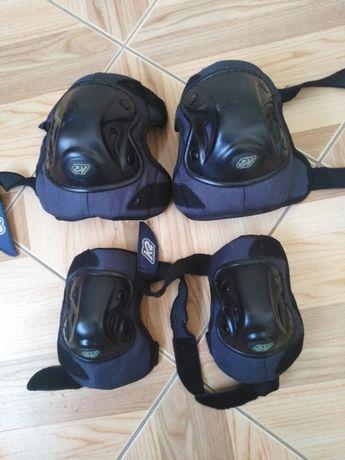 Ochraniacze kolana łokcie K2 rolki deska.