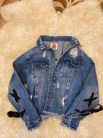 Джинсовка, джинсовый пиджак, джинсовая куртка
