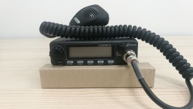CB radio Legend III + antena Hustlerler + swr D-135