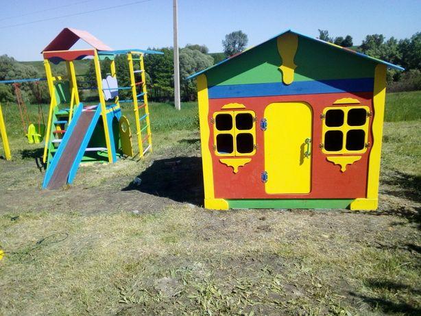 Акция ! Детские домики площадки , песочницы , горки
