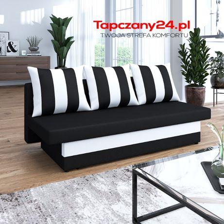 Tapczan Sofa Inka z funkcją spania Kanapa rozkładana +pojemnik Gratis