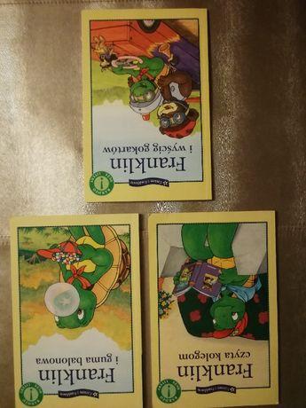3 książki z serii Franklin