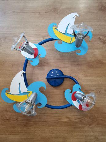OKAZJA!!! Żyrandol dziecięcy + 4 żarówki Philips!!! Stan idealny!!!