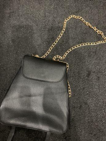 Torebka plecak 2w1 elegancka na łańcuszku nowa