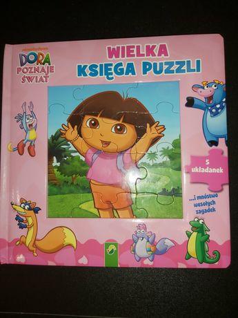 Dora wielka księga puzzli