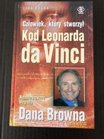 Książka Człowiek, który stworzył Kod Leonadra da Vinci