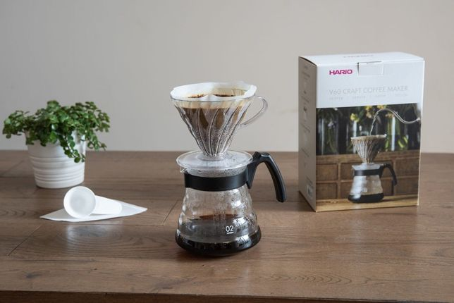 Набор пуровер для заваривания кофе Hario V60 02 CRAFT на 1-4 чашки