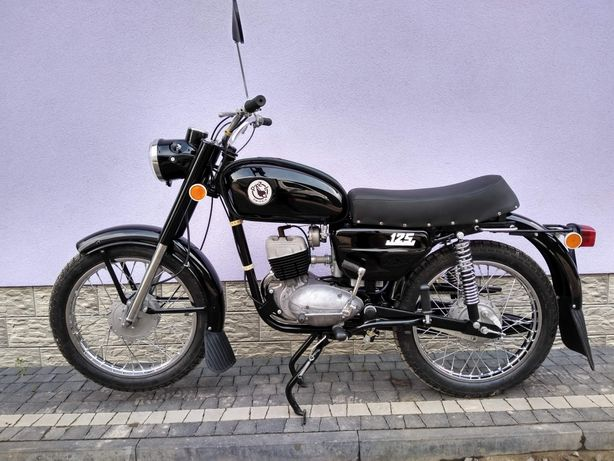 Motocykl WSK 125 M06B3 1980r. Po Renowacji Silnik Plomby ZMD PZL